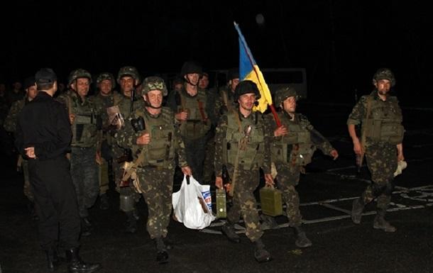 Первый батальон Нацгвардии вернулся в Киев