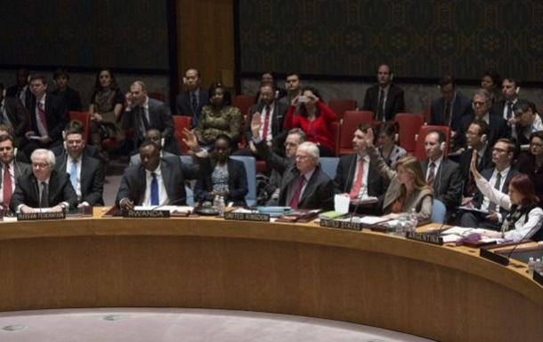Россия подаст в Совбез ООН проект резолюции по Украине
