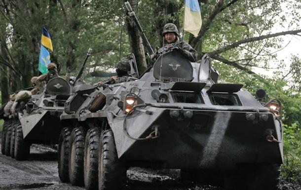 Возле Славянска идет активная наступательная фаза АТО - Аваков