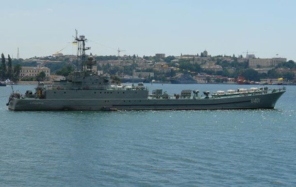 Из Крыма вывели еще три судна украинских ВМС - Минобороны