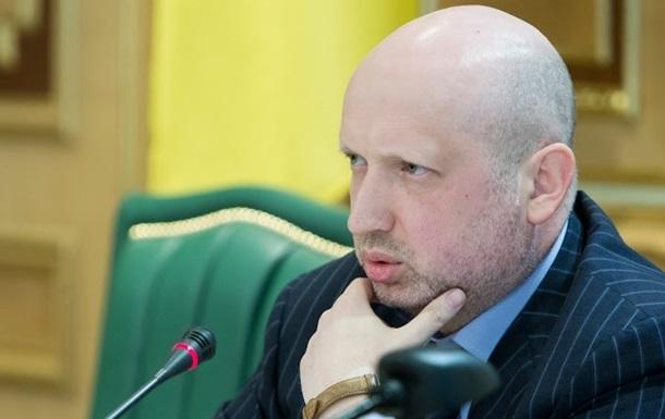 Турчинов не исключает скорейшего введения военного положения на Донбассе