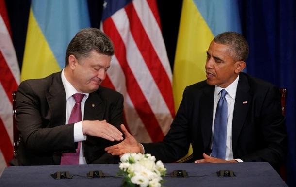 Обама: Порошенко - мудрый выбор для Украины