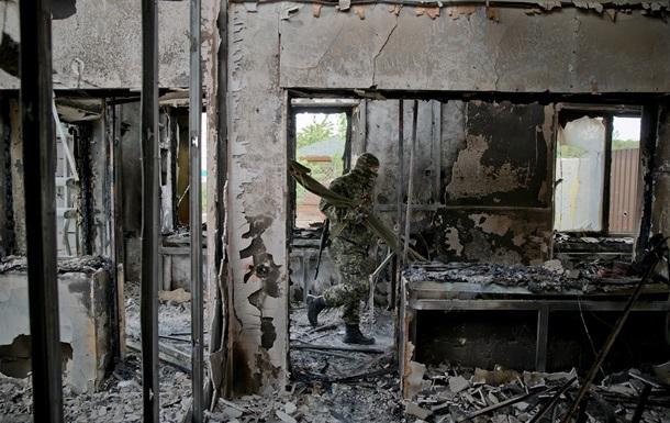 Захват воинских частей в Луганске квалифицировали как теракты