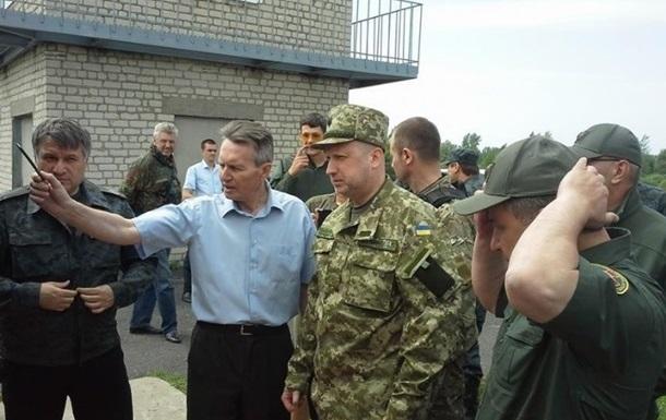 Украина начинает перекрывать восточную границу - Турчинов