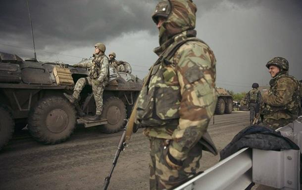 Нацгвардия окружила Амвросиевку  в Донецкой области