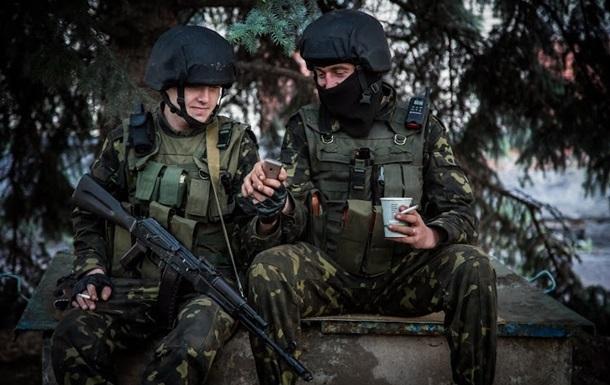 За участие в АТО военным будут платить не менее трех тысяч гривен