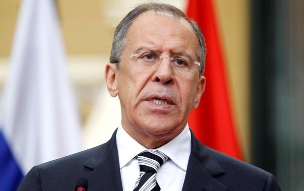 Россия и США выступают за прекращение войсковой операции в Украине - Лавров