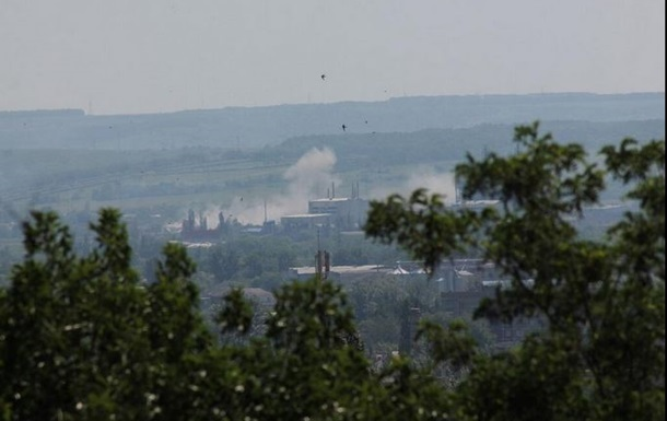 В Славянске с территории храма обстреляли блокпосты Нацгвардии