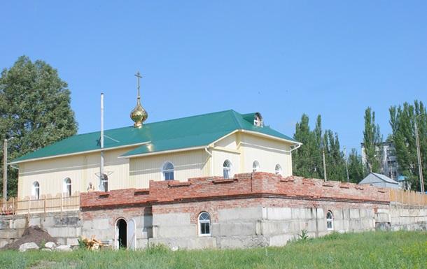 В Славянской епархии заверили, что с территории храма не обстреливали блокпост военных