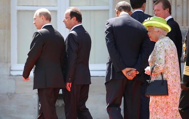 Путин и Обама поговорили в Нормандии