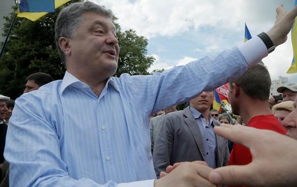 Порошенко не пришел на Вече Майдана