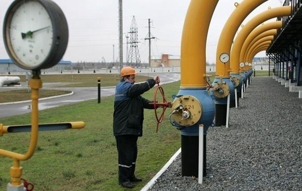 Украина увеличила количество газа в подземных хранилищах