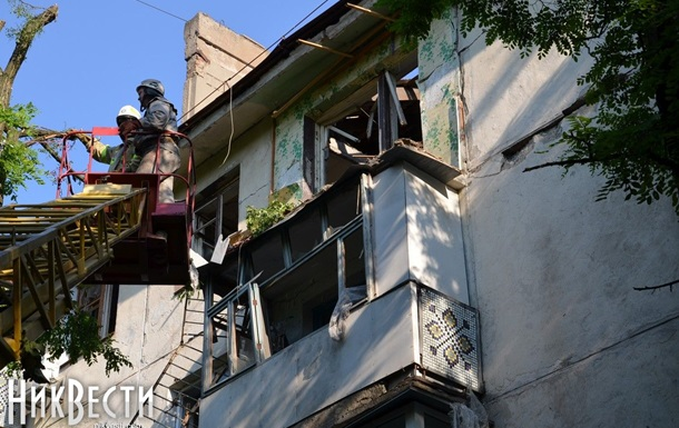 Установлена предварительная причина взрыва дома в Николаеве