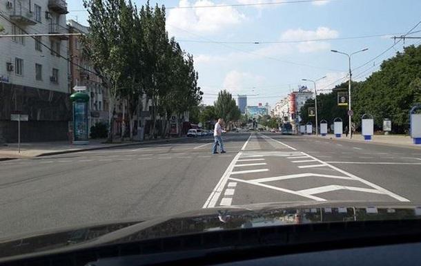 В центре Донецка идет перестрелка - СМИ