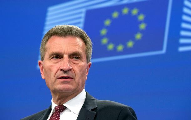 В Еврокомиссии будут  мотивировать  Украину заплатить Газпрому