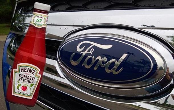 Ford и Heinz разрабатывают автомобиль с деталями из помидоров