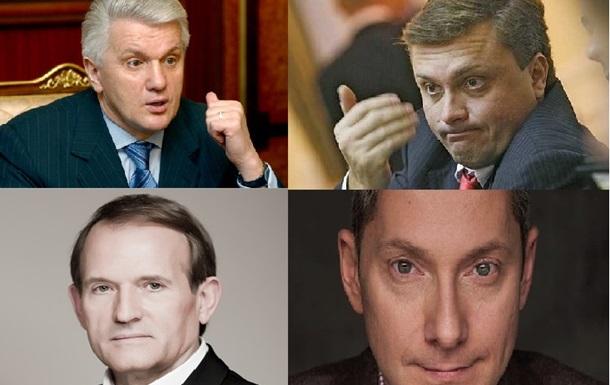 Серые кардиналы  украинской власти. От Табачника до Ложкина