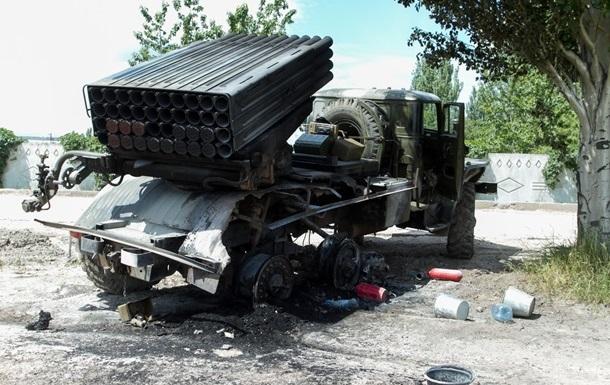 Глава Добропольского района подтвердил обстрел из установки Град - видео