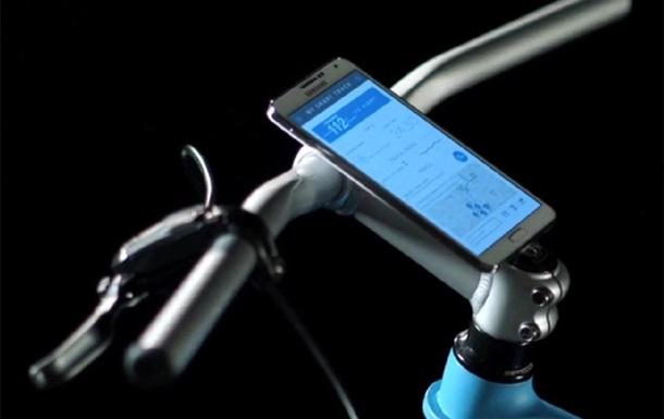 Samsung представила концепт смарт-велосипеда
