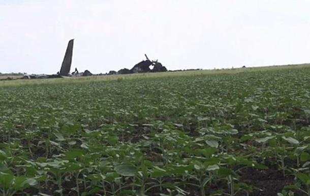 В Сети появилось видео с места падения сбитого в Луганске самолета
