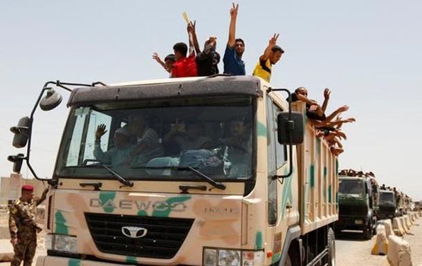 Иракская армия отбила у боевиков три города