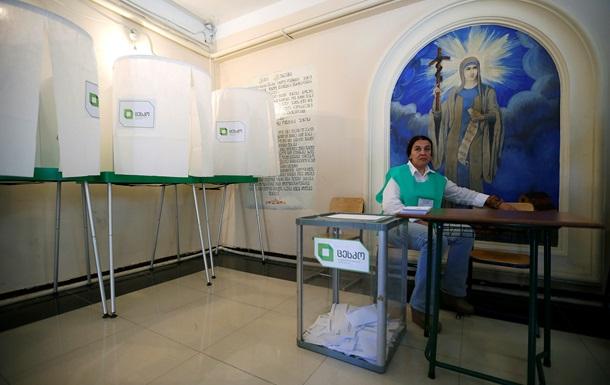 На выборах в Грузии явка избирателей составляет 34,64%