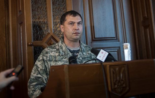 Все воинские части в Луганске и к востоку от города перешли на сторону ЛНР - Болотов