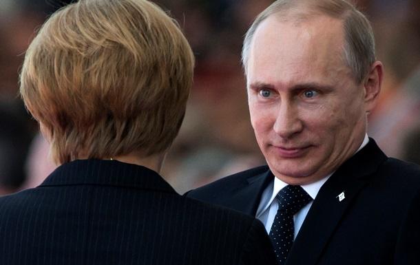Нашла у Путина визитку Яроша. Что ищут в интернете об Ангеле Меркель