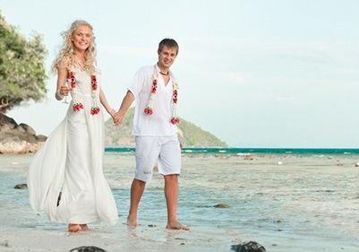 Свадьба в экзотических странах для украинцев стала доступнее