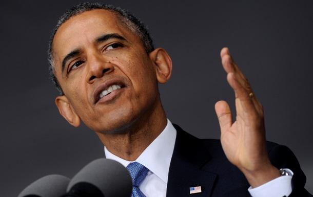 Рейтинг поддержки Обамы упал до 41% на фоне событий в Украине и Ираке – опрос