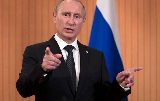 Путин обвинил власти Украины в срыве газовых переговоров