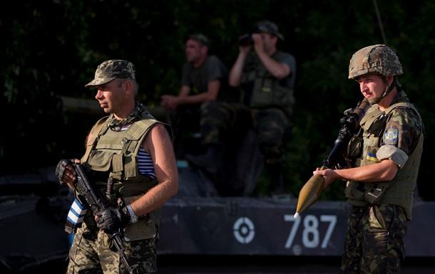 Сепаратисты обстреляли колонну пограничников в Луганской области