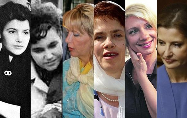 Жены президентов Украины