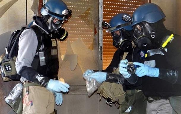 Из Сирии вывезли все химическое оружие
