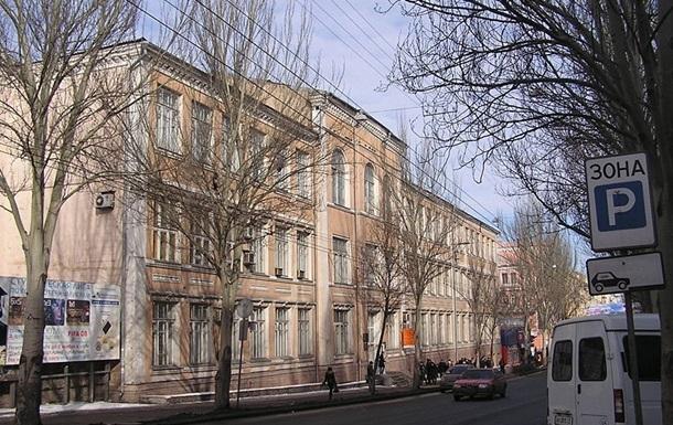 В Донецке разграбили военную кафедру ДонНТУ