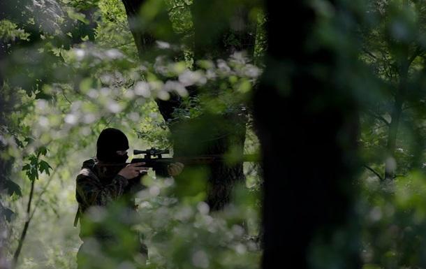 Ночью возле Донецка напали на блокпост украинских военных