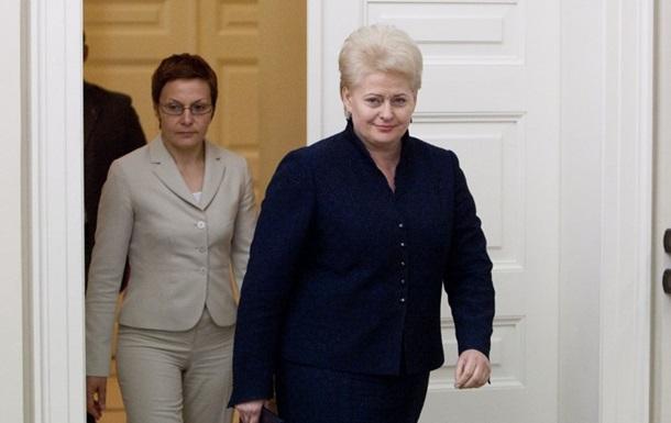 Главный помощник президента Литвы уволилась после заведенного на нее уголовного дела