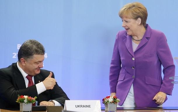 Ассоциация Украины с ЕС вступит в силу после переговоров с Россией - Меркель