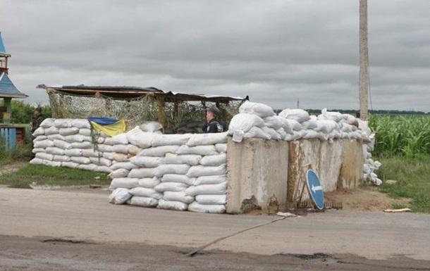 В Харьковской области укрепляют блокпосты и перекрывают мосты