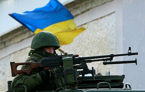 Минобороны усилило охрану военных баз на востоке Украины