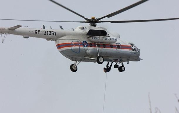 Вертолет в Хабаровском крае загорелся из-за лесного пожара – МЧС РФ