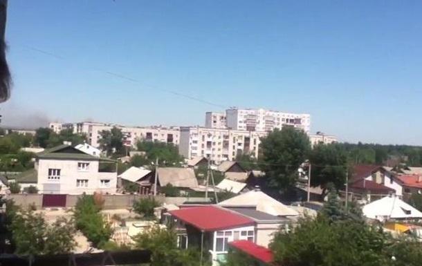 Северодонецк попал под обстрел