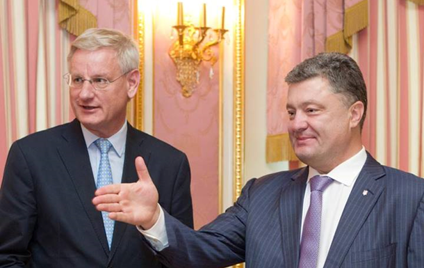 Карл Бильдт договорился с Порошенко о взаимном контроле АТО