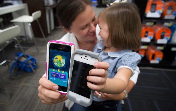 iPhone претендует стать незаменимым средством воспитания детей