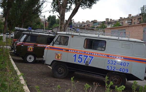 В Луганске два человека подорвались на мине