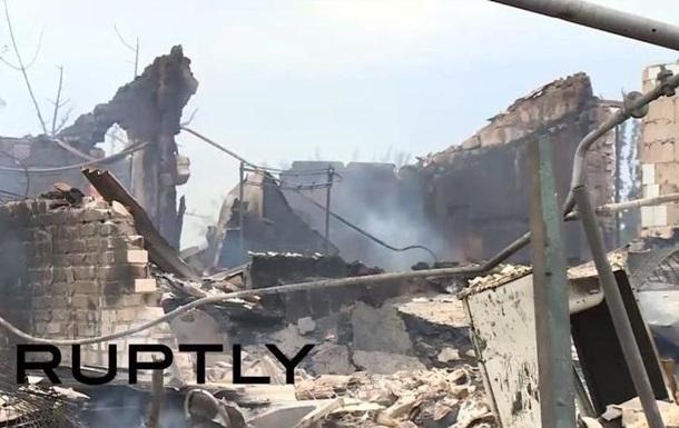 Последствия бомбардировки Кондрашовки - репортаж