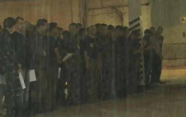 На Донбассе привели к присяге новобранцев  Русской православной армии