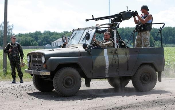 Колонны сепаратистов из Славянска направляются в Донецк - СМИ