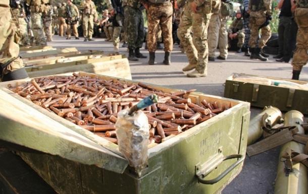 Украинские силовики нашли в Николаевке тонну тротила