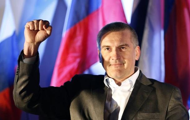 Аксенов возглавил список Единой России на выборах в Совет Крыма
